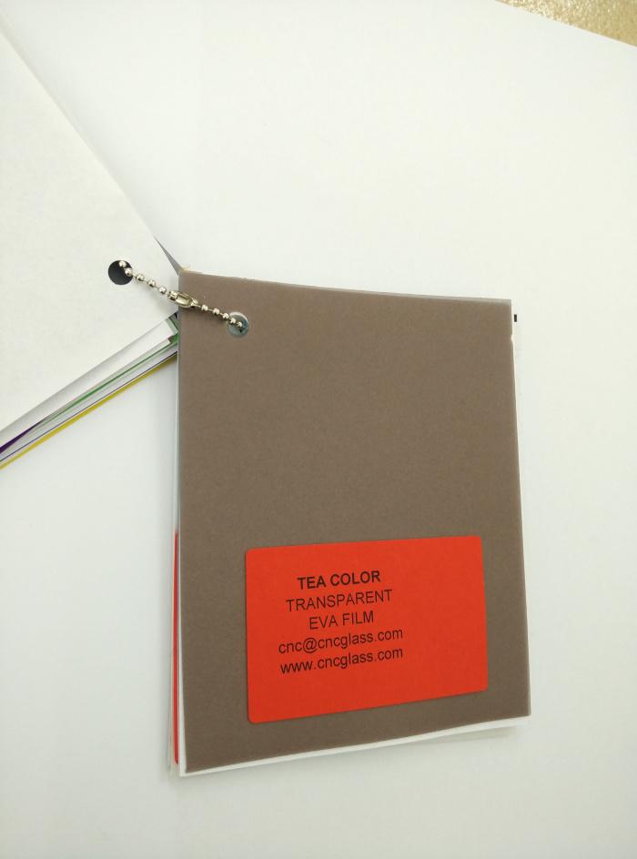TEA COLOR Transparent Ethylene Vinyl Acetate Copolymer EVA interlayer film for laminated glass safety glazing (29)
