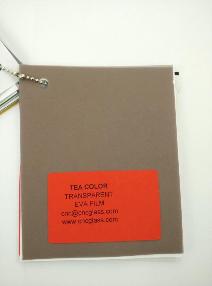 TEA COLOR Transparent Ethylene Vinyl Acetate Copolymer EVA interlayer film for laminated glass safety glazing (3)
