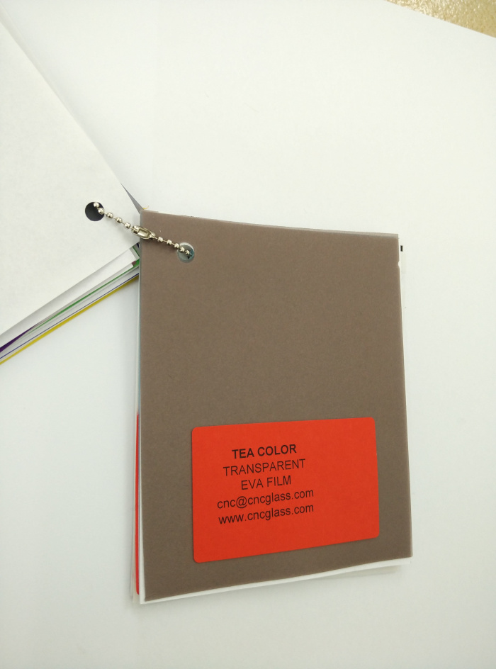 TEA COLOR Transparent Ethylene Vinyl Acetate Copolymer EVA interlayer film for laminated glass safety glazing (30)