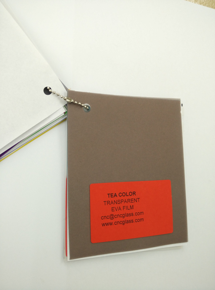 TEA COLOR Transparent Ethylene Vinyl Acetate Copolymer EVA interlayer film for laminated glass safety glazing (32)