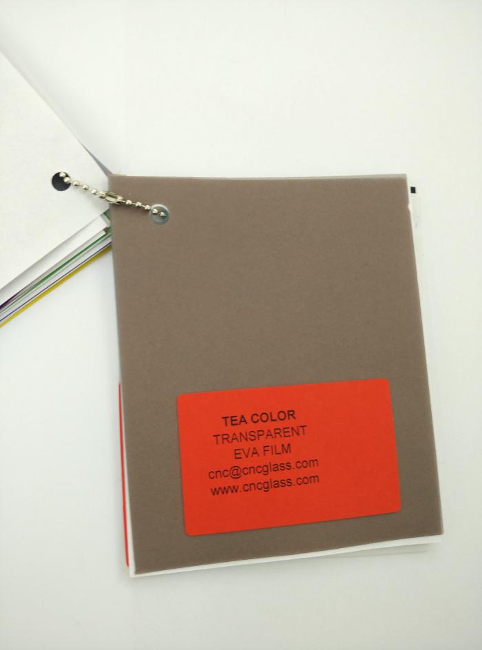 TEA COLOR Transparent Ethylene Vinyl Acetate Copolymer EVA interlayer film for laminated glass safety glazing (36)