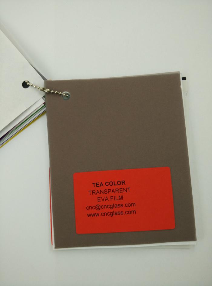 TEA COLOR Transparent Ethylene Vinyl Acetate Copolymer EVA interlayer film for laminated glass safety glazing (37)