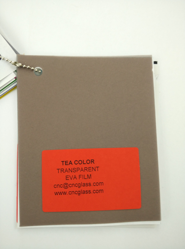 TEA COLOR Transparent Ethylene Vinyl Acetate Copolymer EVA interlayer film for laminated glass safety glazing (4)