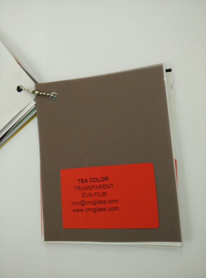 TEA COLOR Transparent Ethylene Vinyl Acetate Copolymer EVA interlayer film for laminated glass safety glazing (40)