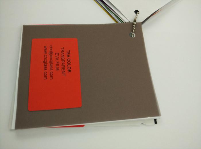 TEA COLOR Transparent Ethylene Vinyl Acetate Copolymer EVA interlayer film for laminated glass safety glazing (42)