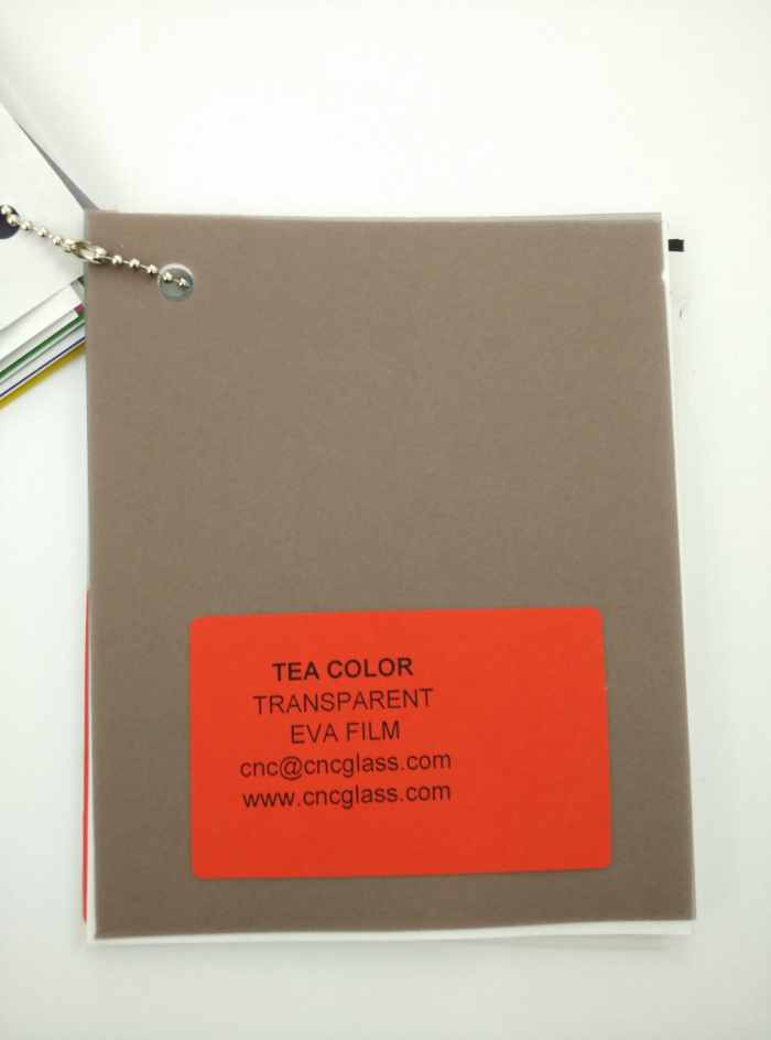 TEA COLOR Transparent Ethylene Vinyl Acetate Copolymer EVA interlayer film for laminated glass safety glazing (5)