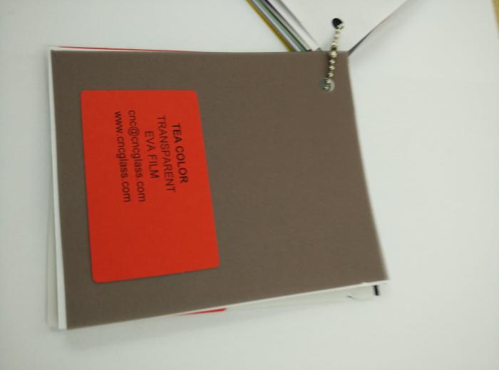TEA COLOR Transparent Ethylene Vinyl Acetate Copolymer EVA interlayer film for laminated glass safety glazing (51)