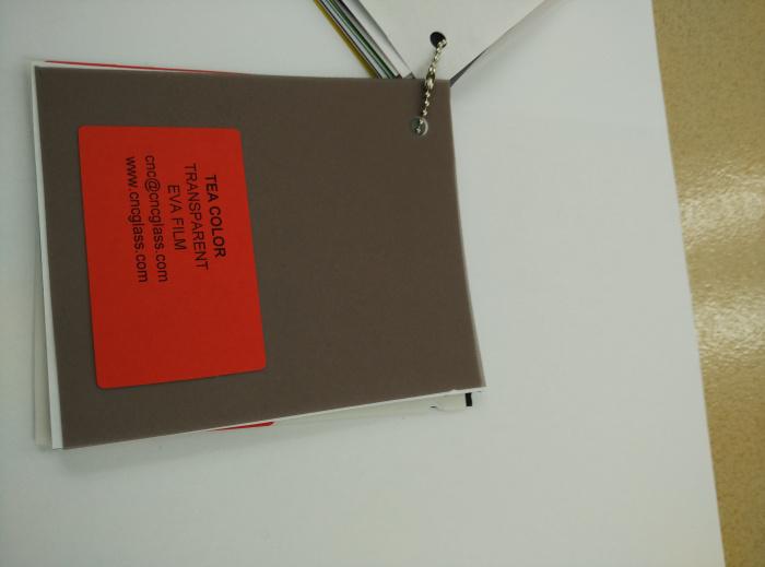 TEA COLOR Transparent Ethylene Vinyl Acetate Copolymer EVA interlayer film for laminated glass safety glazing (54)