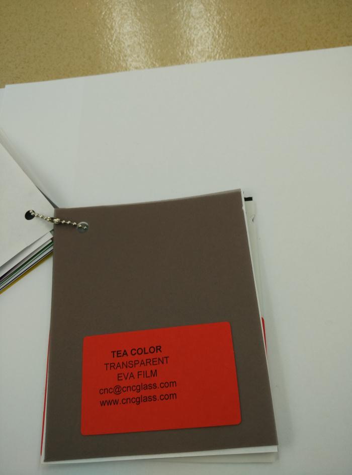 TEA COLOR Transparent Ethylene Vinyl Acetate Copolymer EVA interlayer film for laminated glass safety glazing (55)