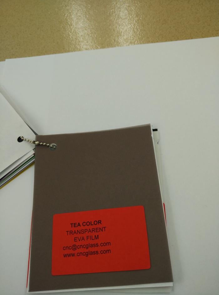 TEA COLOR Transparent Ethylene Vinyl Acetate Copolymer EVA interlayer film for laminated glass safety glazing (56)
