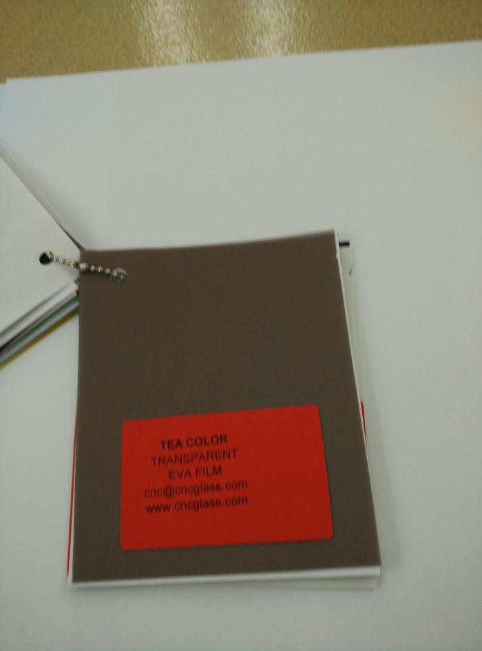 TEA COLOR Transparent Ethylene Vinyl Acetate Copolymer EVA interlayer film for laminated glass safety glazing (57)