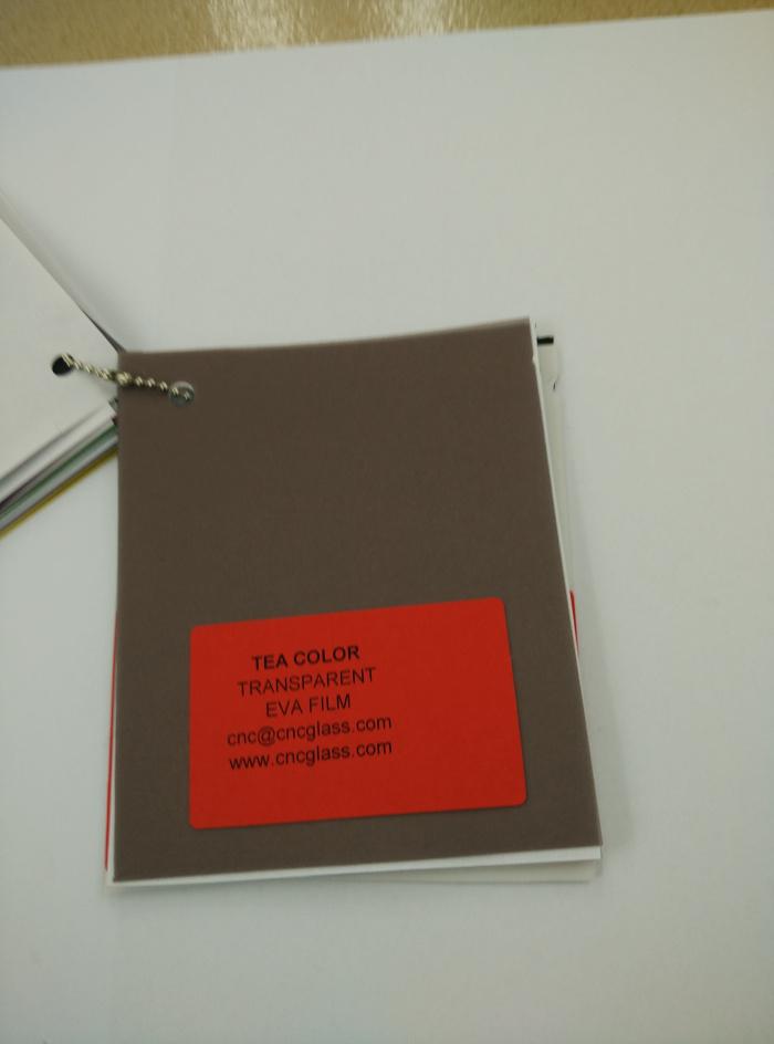 TEA COLOR Transparent Ethylene Vinyl Acetate Copolymer EVA interlayer film for laminated glass safety glazing (58)