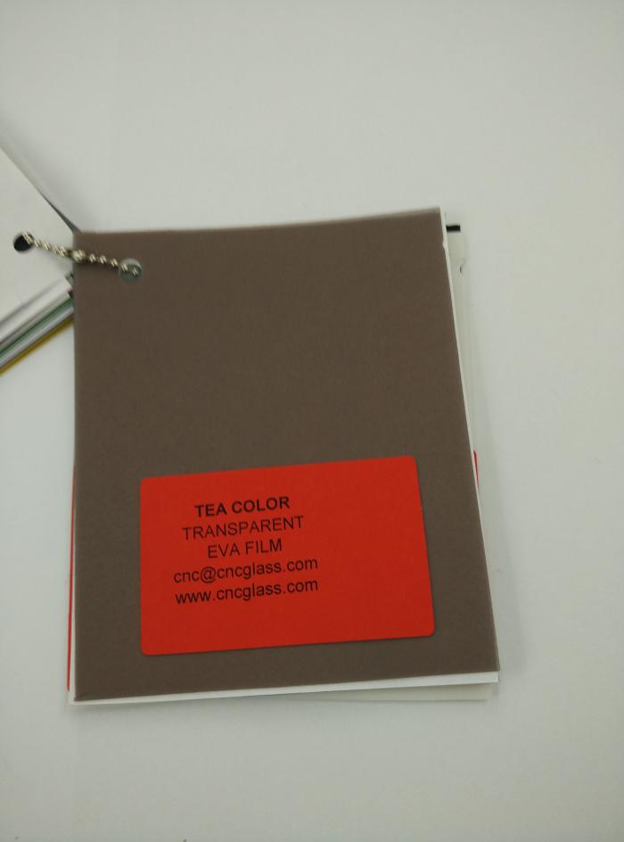TEA COLOR Transparent Ethylene Vinyl Acetate Copolymer EVA interlayer film for laminated glass safety glazing (59)