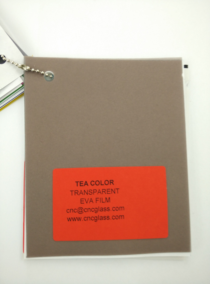 TEA COLOR Transparent Ethylene Vinyl Acetate Copolymer EVA interlayer film for laminated glass safety glazing (6)