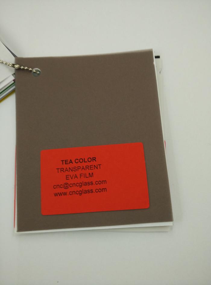TEA COLOR Transparent Ethylene Vinyl Acetate Copolymer EVA interlayer film for laminated glass safety glazing (60)