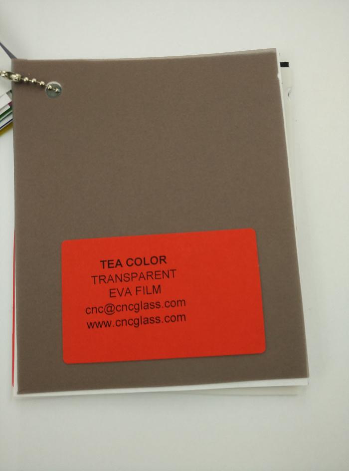 TEA COLOR Transparent Ethylene Vinyl Acetate Copolymer EVA interlayer film for laminated glass safety glazing (61)