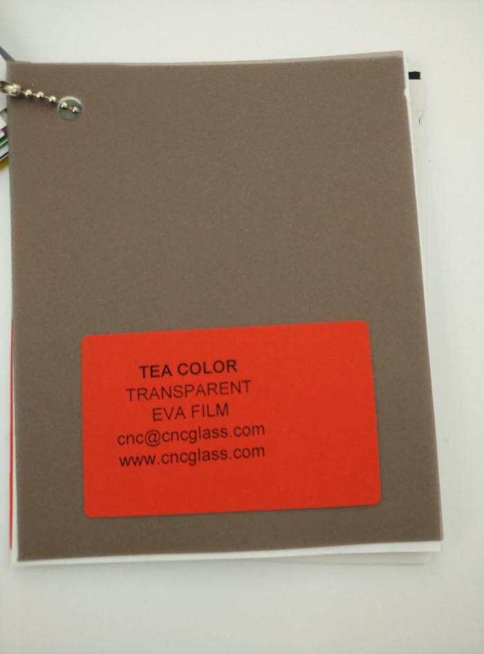 TEA COLOR Transparent Ethylene Vinyl Acetate Copolymer EVA interlayer film for laminated glass safety glazing (62)
