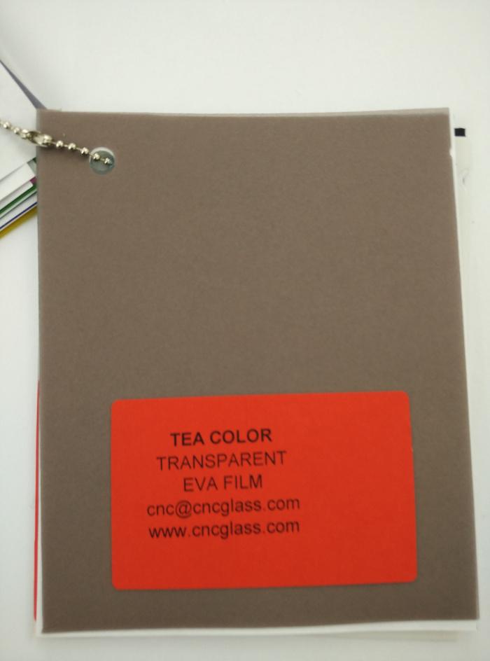 TEA COLOR Transparent Ethylene Vinyl Acetate Copolymer EVA interlayer film for laminated glass safety glazing (63)