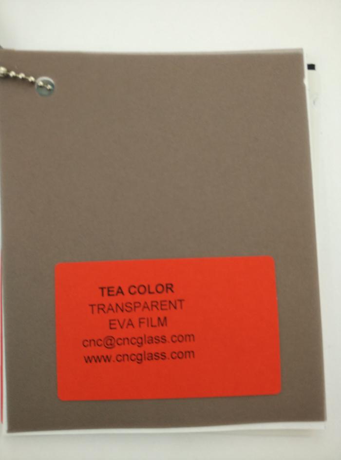 TEA COLOR Transparent Ethylene Vinyl Acetate Copolymer EVA interlayer film for laminated glass safety glazing (64)