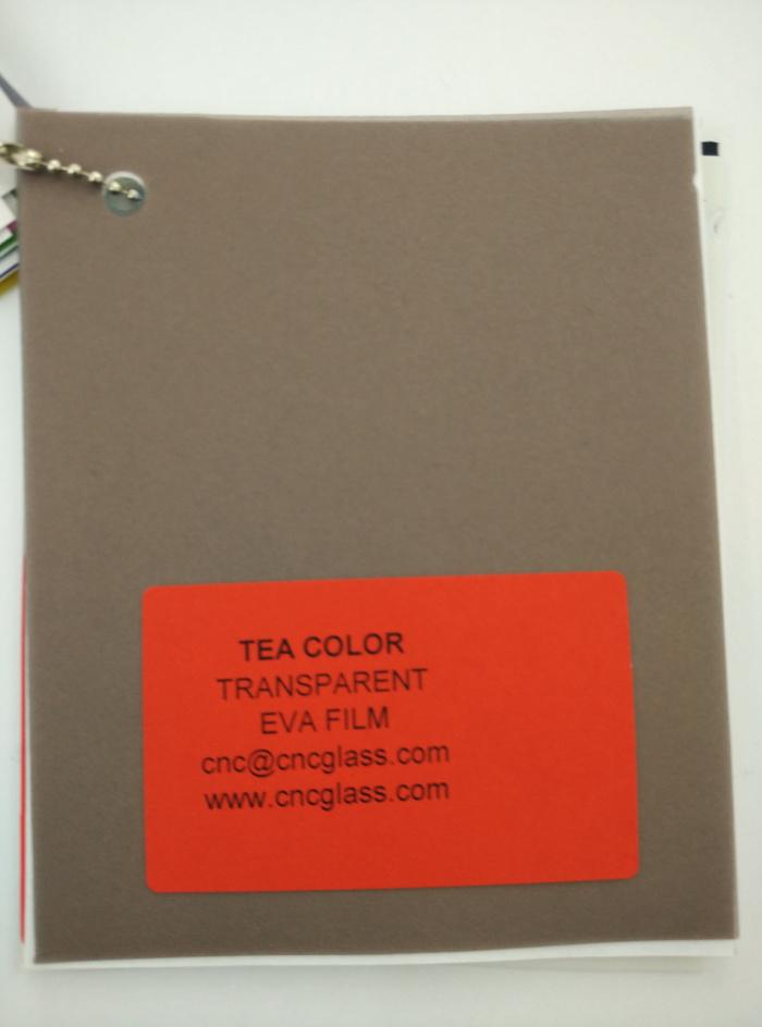 TEA COLOR Transparent Ethylene Vinyl Acetate Copolymer EVA interlayer film for laminated glass safety glazing (65)