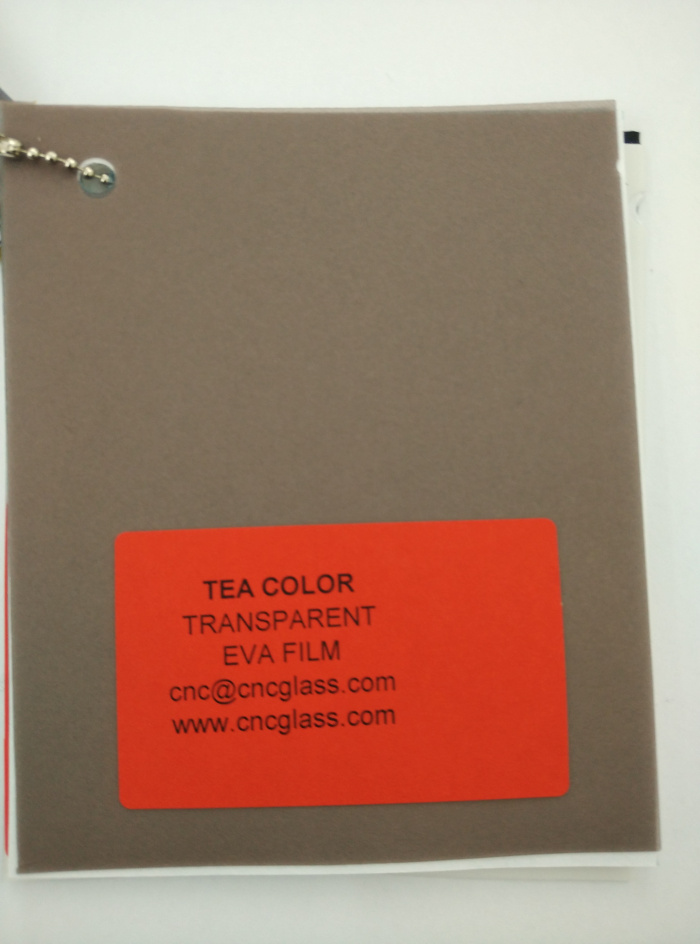 TEA COLOR Transparent Ethylene Vinyl Acetate Copolymer EVA interlayer film for laminated glass safety glazing (66)