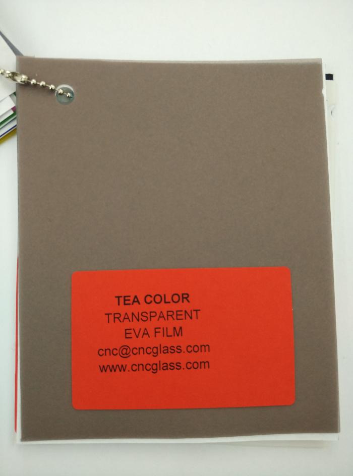 TEA COLOR Transparent Ethylene Vinyl Acetate Copolymer EVA interlayer film for laminated glass safety glazing (67)