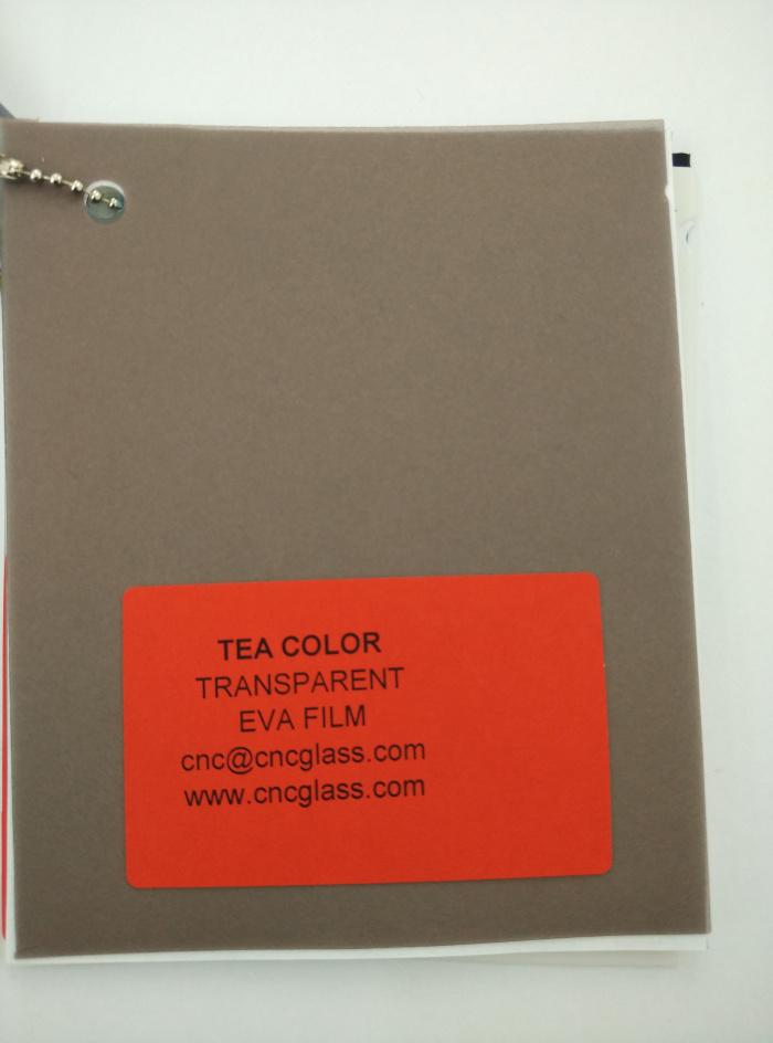 TEA COLOR Transparent Ethylene Vinyl Acetate Copolymer EVA interlayer film for laminated glass safety glazing (68)