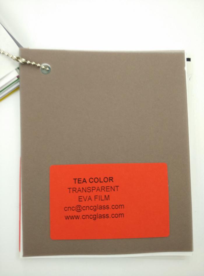 TEA COLOR Transparent Ethylene Vinyl Acetate Copolymer EVA interlayer film for laminated glass safety glazing (7)