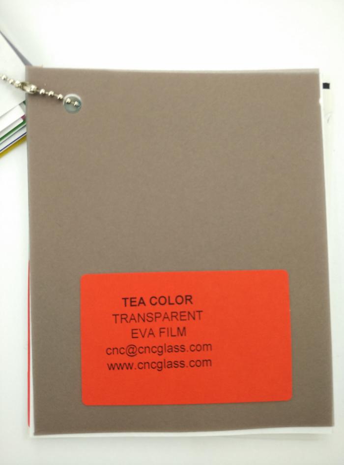 TEA COLOR Transparent Ethylene Vinyl Acetate Copolymer EVA interlayer film for laminated glass safety glazing (8)