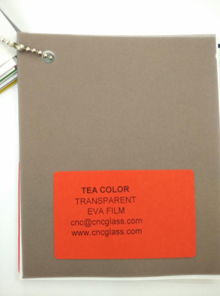 TEA COLOR Transparent Ethylene Vinyl Acetate Copolymer EVA interlayer film for laminated glass safety glazing (9)