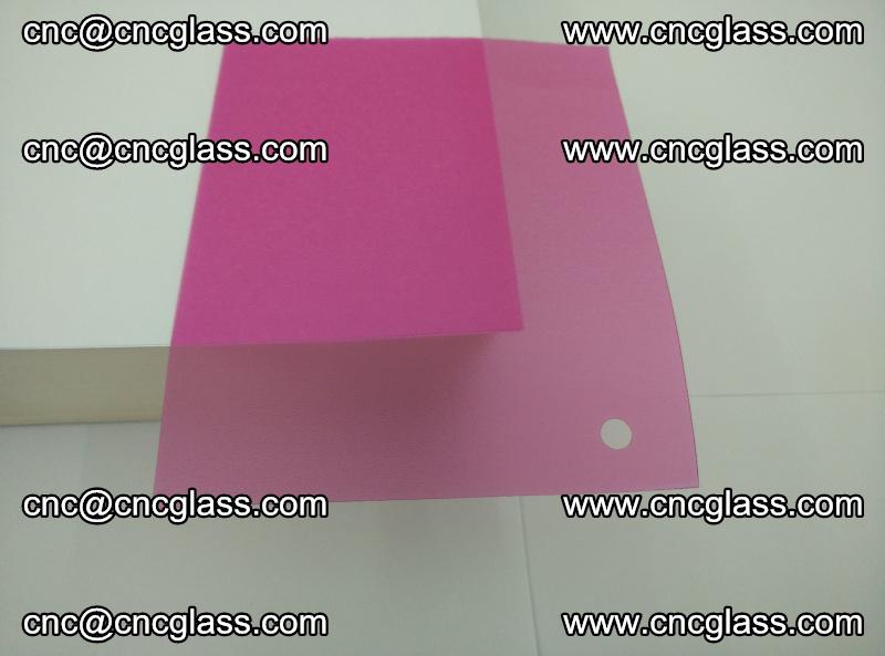 Pink transparent eva glass laminating interlayer film foil (1)