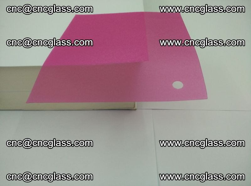 Pink transparent eva glass laminating interlayer film foil (11)