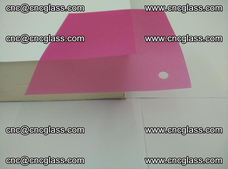 Pink transparent eva glass laminating interlayer film foil (13)