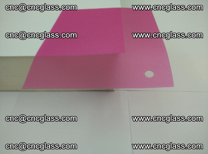 Pink transparent eva glass laminating interlayer film foil (14)