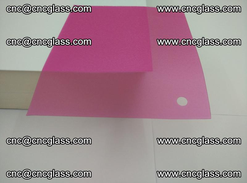 Pink transparent eva glass laminating interlayer film foil (15)