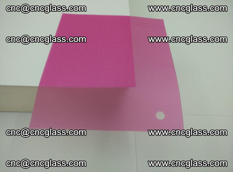 Pink transparent eva glass laminating interlayer film foil (17)