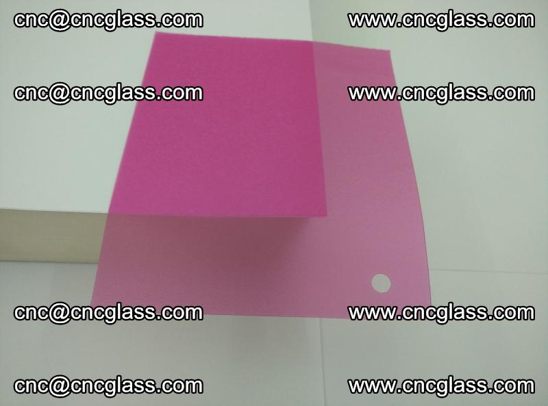 Pink transparent eva glass laminating interlayer film foil (18)