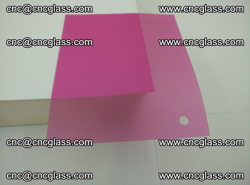 Pink transparent eva glass laminating interlayer film foil (2)