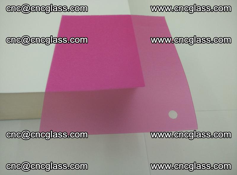 Pink transparent eva glass laminating interlayer film foil (3)