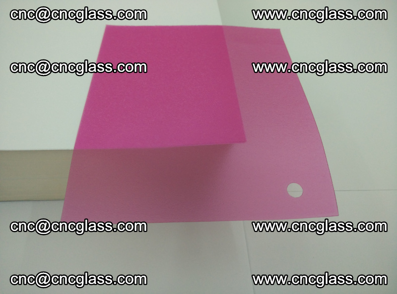 Pink transparent eva glass laminating interlayer film foil (4)