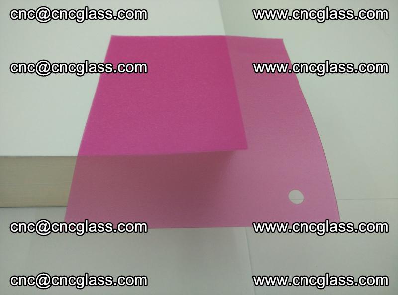 Pink transparent eva glass laminating interlayer film foil (5)