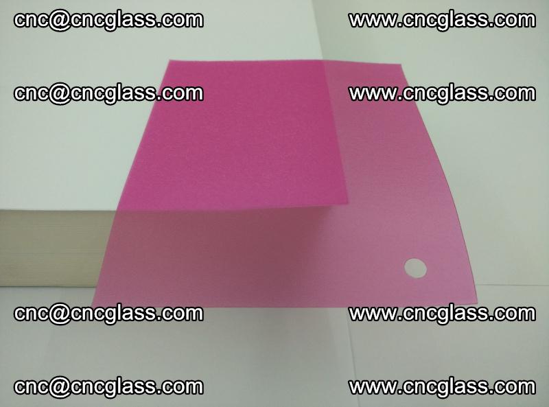 Pink transparent eva glass laminating interlayer film foil (6)