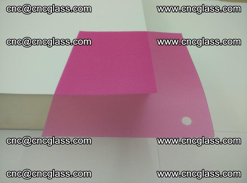 Pink transparent eva glass laminating interlayer film foil (7)