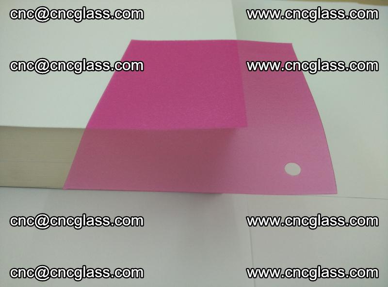 Pink transparent eva glass laminating interlayer film foil (8)